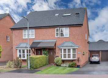 Thumbnail 4 bed semi-detached house for sale in Pavilion Gardens, Woodland Grange, Bromsgrove