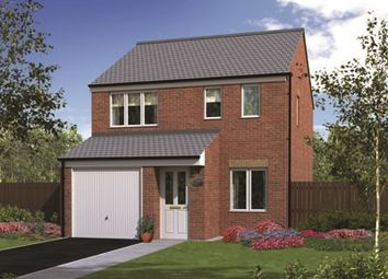 "Thumbnail 3 bed semi-detached house for sale in ""The Rufford "" at Rothbury Drive, Ashington"