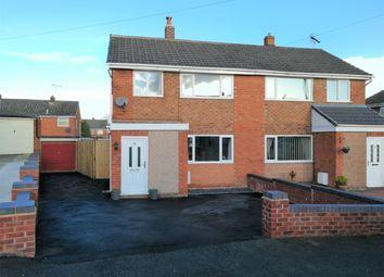 Thumbnail 3 bed semi-detached house for sale in Pen Y Maes, Buckley, Flintshire