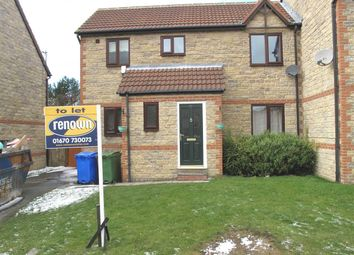 Thumbnail 3 bed semi-detached house to rent in Beech Avenue, The Pastures, Cramlington