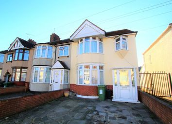Thumbnail 4 bed semi-detached house to rent in Essex Road, Romford
