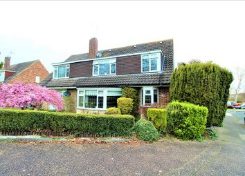 Thumbnail 4 bed semi-detached house for sale in Hazelwood, Crawley, West Sussex.