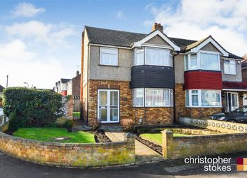 Thumbnail 3 bed semi-detached house for sale in Elgin Road, Cheshunt, Waltham Cross, Hertfordshire