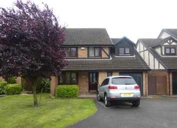 Thumbnail 4 bed detached house for sale in Knossington Close, Lower Earley, Reading