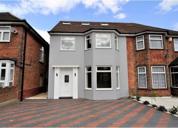 Thumbnail 5 bedroom semi-detached house for sale in Vivian Avenue, Wembley