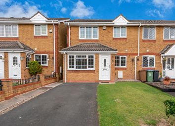 Thumbnail 3 bed end terrace house for sale in Basalt Close, Walsall
