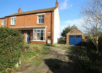 Thumbnail 2 bed semi-detached house for sale in Walesby Road, Market Rasen