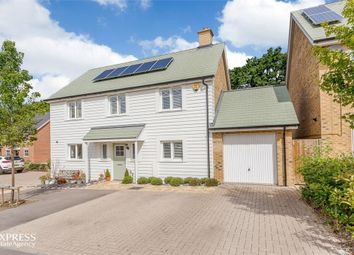 Thumbnail 4 bed detached house for sale in Grant Drive, Church Crookham, Fleet, Hampshire