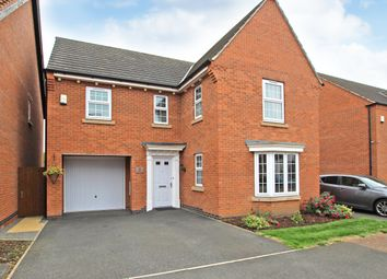 Thumbnail 4 bed detached house for sale in Hallaton Drive, Syston