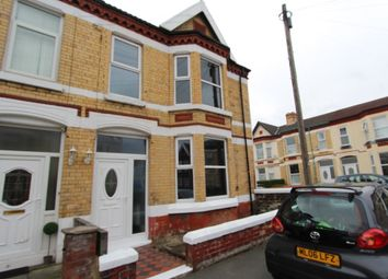 Thumbnail 3 bed end terrace house to rent in Kenilworth Road, Wallasey