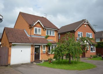 Thumbnail 3 bedroom detached house for sale in Leveret Drive, Whetstone, Leicester