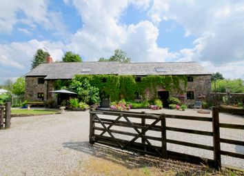 Thumbnail 5 bed barn conversion for sale in Cookbury, Holsworthy