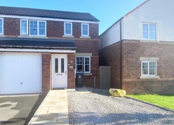 Thumbnail 3 bed semi-detached house for sale in Ffordd Piran, Oakenholt, Flint, Flintshire