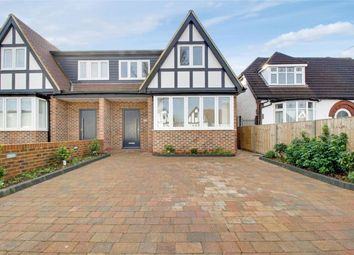 Thumbnail 3 bed semi-detached house for sale in Manorway, Enfield, Greater London