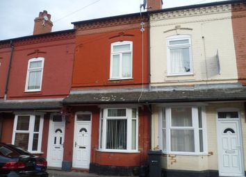 Thumbnail 3 bed terraced house for sale in Endicott Road, Aston, Birmingham
