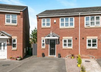 Thumbnail 3 bed semi-detached house for sale in Christleton Close, Prenton, Merseyside
