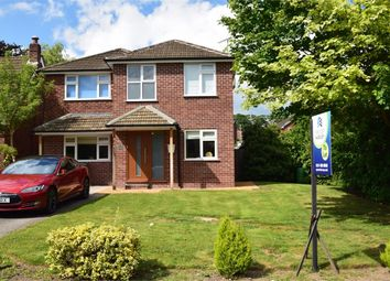Thumbnail 4 bed detached house to rent in Badger Road, Macclesfield, Cheshire