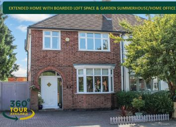 Thumbnail 3 bed semi-detached house for sale in Meadvale Road, Knighton, Leicester