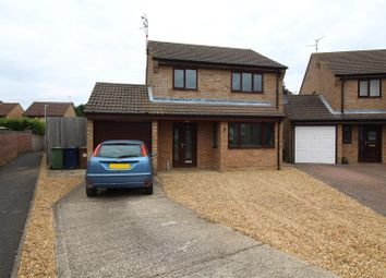 Thumbnail 3 bed detached house for sale in Kelful Close, Eastrea, Peterborough