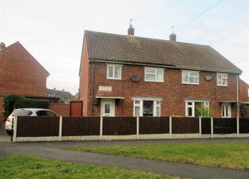 Thumbnail 3 bed semi-detached house for sale in Claverley Crescent, Sundorne, Shrewsbury