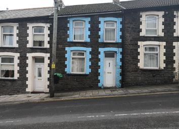 Thumbnail 3 bed terraced house to rent in Penrhys Road, Tylorstown, Ferndale