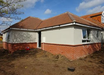 Thumbnail 2 bedroom detached bungalow for sale in Bixley Road, Ipswich