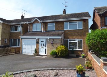 Thumbnail 4 bed detached house for sale in Cordwell Close, Castle Donington, Derby