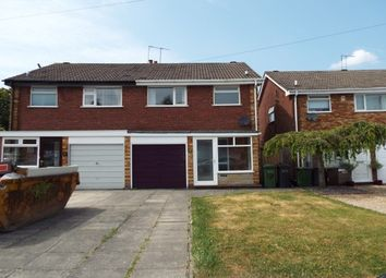 Thumbnail 3 bed semi-detached house to rent in Harnall Close, Shirley, Solihull