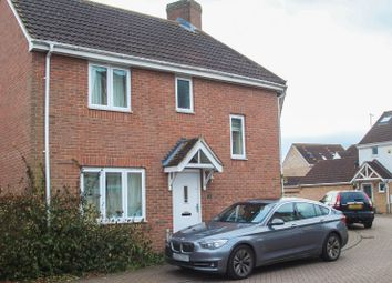 Thumbnail 3 bed detached house to rent in Collingwood Drive, Longstanton, Cambridge