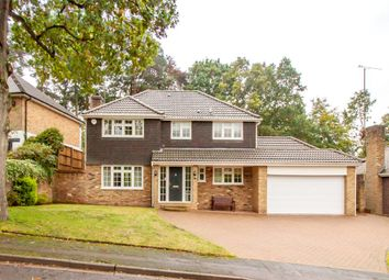 Thumbnail 4 bed detached house for sale in Chatsworth Heights, Camberley, Surrey