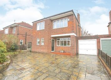 Thumbnail 3 bed detached house for sale in Eyam Road, Hazel Grove, Stockport, Cheshire