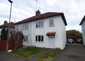 Thumbnail 3 bedroom semi-detached house for sale in Hutton Street, Allenton, Derby, Derbyshire