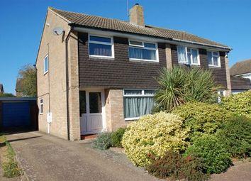 Thumbnail 3 bedroom semi-detached house for sale in East Leys Court, Moulton, Northampton