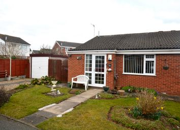Thumbnail 2 bed semi-detached bungalow for sale in Hereford Close, Barwell, Leicestershire