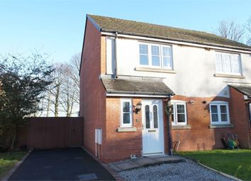 Thumbnail 2 bed semi-detached house for sale in Edenside, Cargo, Carlisle, Cumbria