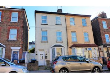 Thumbnail 3 bed end terrace house for sale in Central Road, Ramsgate