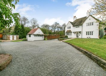 Thumbnail 4 bed detached house for sale in High Street, Old Whittington, Chesterfield, Derbyshire