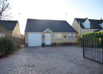 Thumbnail 3 bed detached bungalow for sale in Back Road, Murrow, Wisbech