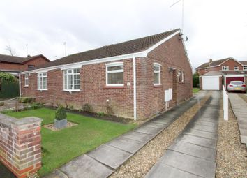 Thumbnail 2 bed semi-detached bungalow for sale in Brereton Close, Beverley