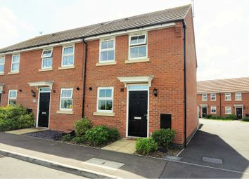 Thumbnail 2 bedroom end terrace house for sale in Hunters Road, Fernwood, Newark