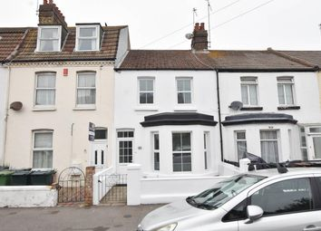 Thumbnail 3 bed terraced house for sale in Longstone Road, Eastbourne