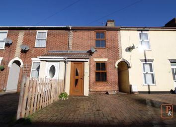 Thumbnail 2 bed terraced house for sale in Felixstowe Road, Ipswich