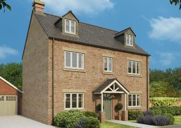 Thumbnail 5 bed detached house for sale in Ash Gardens, Burcote Park, Wood Burcote, Towcester