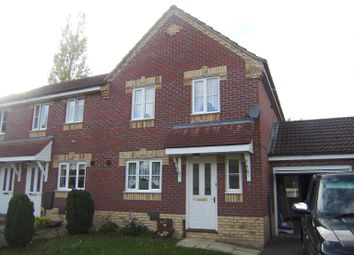 Thumbnail 3 bed semi-detached house to rent in Speedwell Close, Attleborough