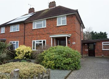 Thumbnail 3 bed semi-detached house for sale in Aarons Hill, Godalming