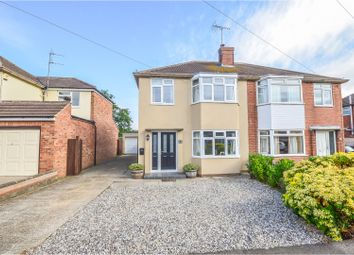 Thumbnail 3 bed semi-detached house for sale in Portfields Road, Newport Pagnell
