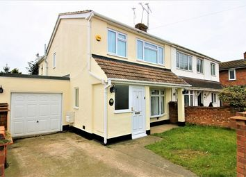 Thumbnail 4 bed semi-detached house for sale in Dyke Crescent, Canvey Island, Essex