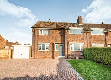 Thumbnail 3 bed semi-detached house for sale in Loders Green, Eastfield, Scarborough