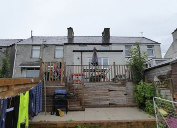 Thumbnail 2 bed terraced house for sale in Gerlan Road, Bethesda, Bangor