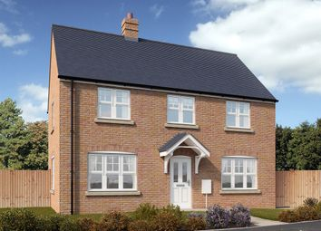 "Thumbnail 3 bed detached house for sale in ""Dunchurch "" at Snowberry Lane, Wellesbourne, Warwick"